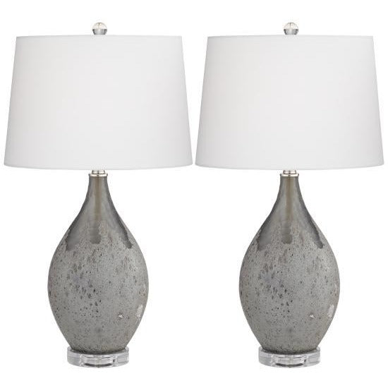 Pacific Coast Lighting 32F01 Volcanic Shimmer Table Lamp Set of 2