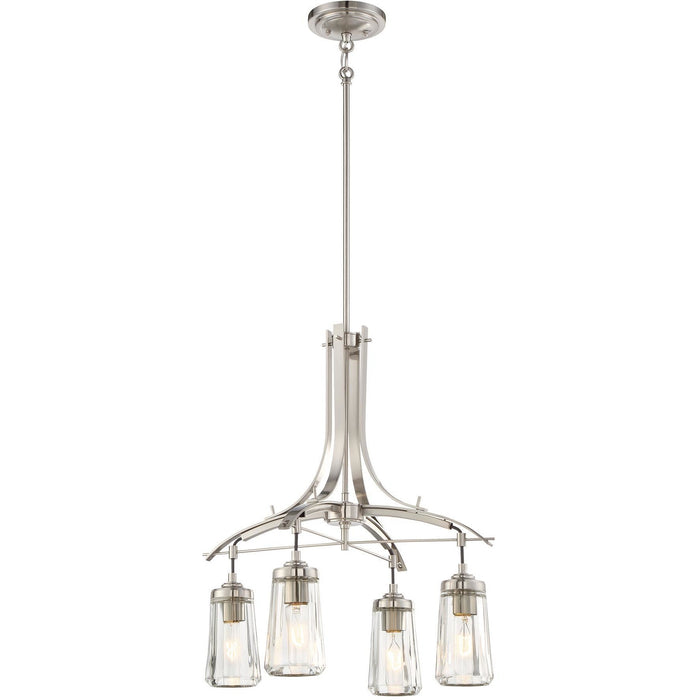 Minka Lavery 3304-84 Poleis 4 Light Chandelier