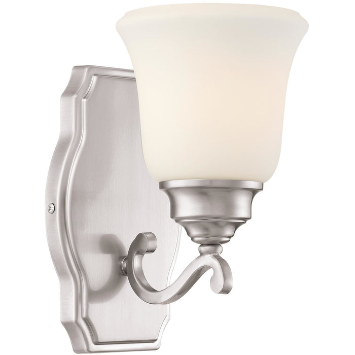 Minka Lavery 3321-84 Savannah Row 1 Light Bathroom Vanity Light Sconce