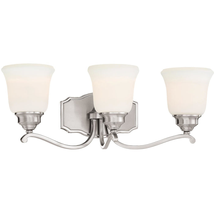 Minka Lavery 3323-84 Savannah Row 3 Light Bathroom Vanity Light