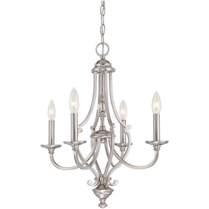 Minka Lavery 3334-84 Savannah Row 4 Light Chandelier