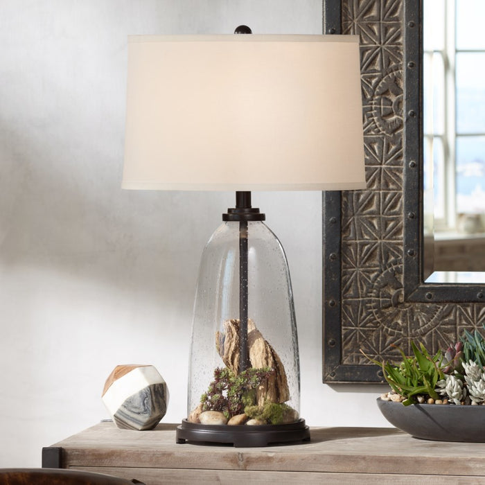Pacific Coast Lighting 37V13 Emerson Grey Table Lamp