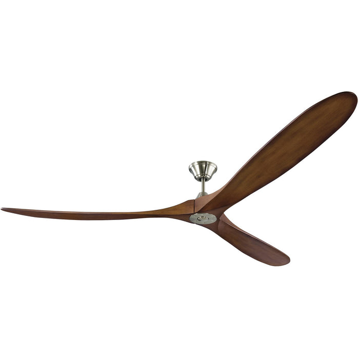 "Monte Carlo 3MAVR88BSKOA 88"" Maverick Super Max Brushed Steel Ceiling Fan"