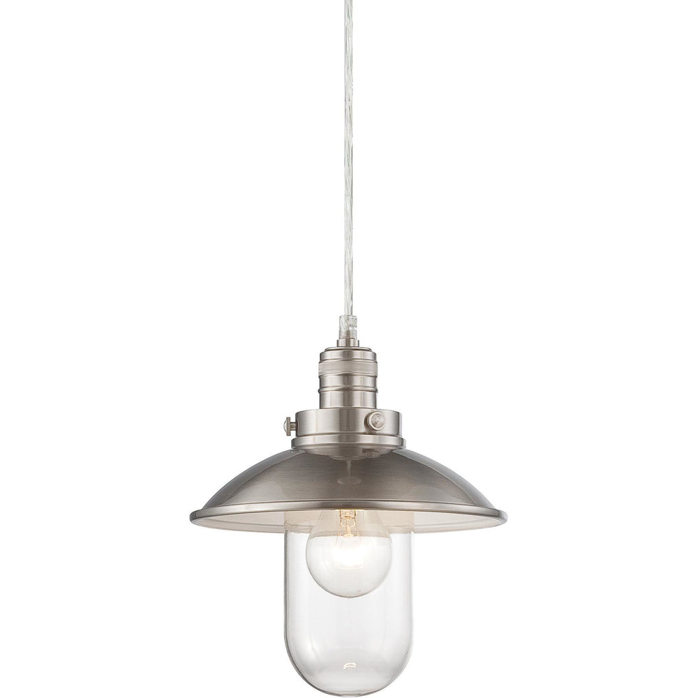 Minka Lavery 4130-84 Downtown Edison 1 Light Mini Pendant Light