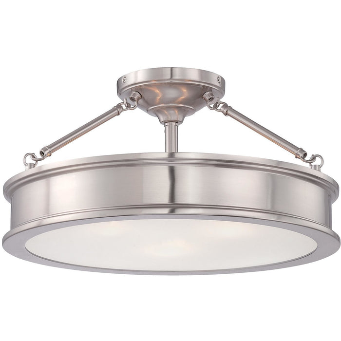 Minka Lavery 4177-84 Harbour Point 3 Light Semi Flush Mount