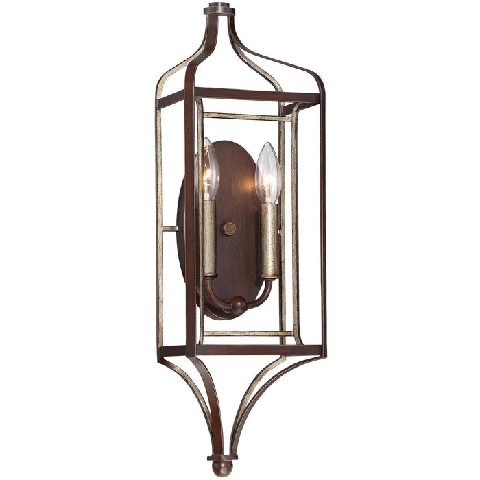 Minka Lavery 4342-593 Astrapia 2 Light Wall Light Sconce