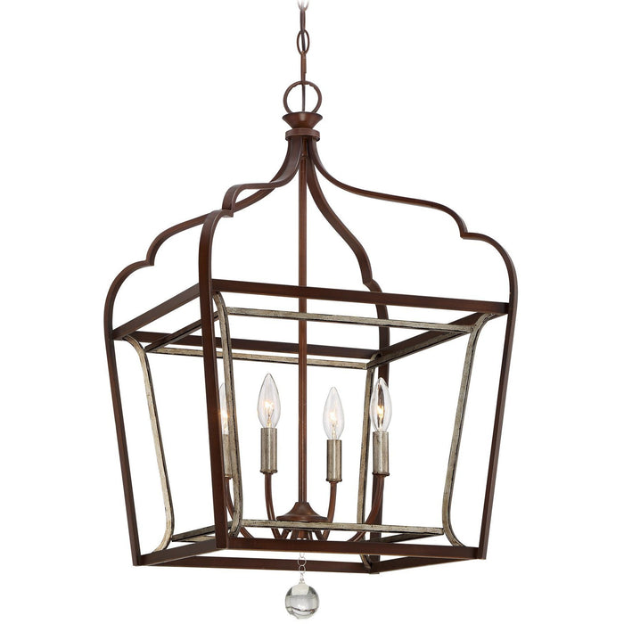 Minka Lavery 4344-593 Astrapia 4 Light Foyer Pendant Light