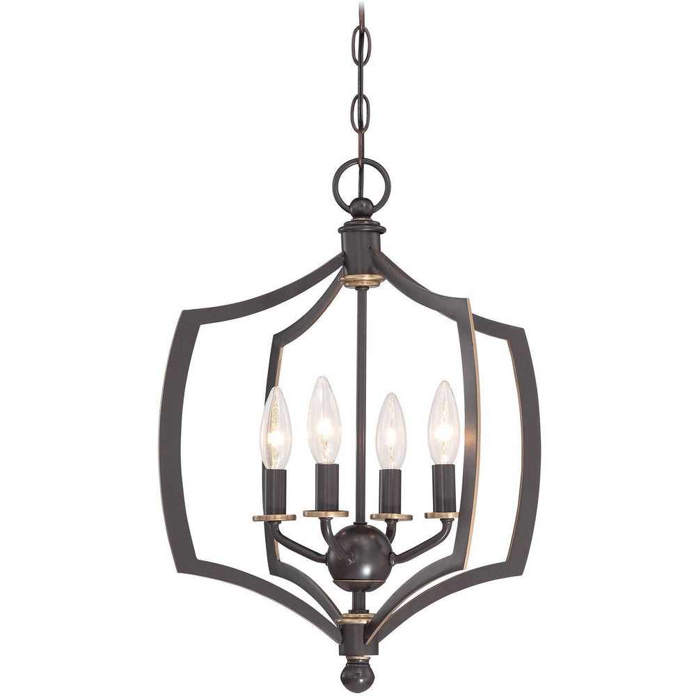 Minka Lavery 4374-579 Middletown 4 Light Mini Chandelier