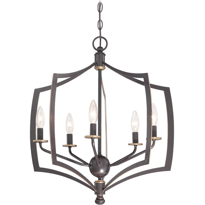 Minka Lavery 4375-579 Middletown 5 Light Chandelier