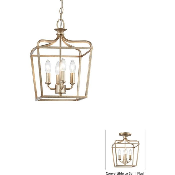 Minka Lavery 4445-582 Laurel Estate 4 Light Pendant Light