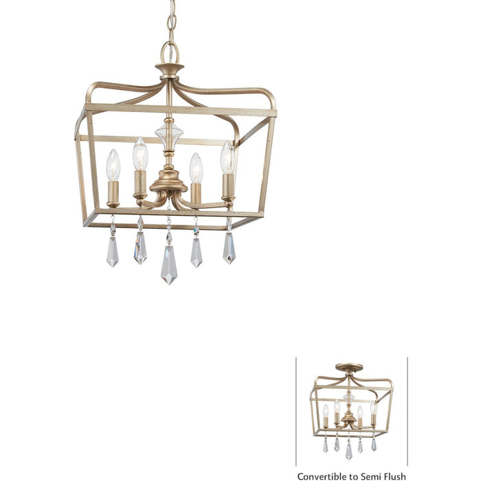 Minka Lavery 4447-582 Laurel Estate 4 Light Pendant Light