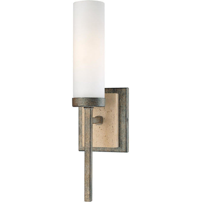 Minka Lavery 4460-273 Compositions 1 Light Wall Light Sconce