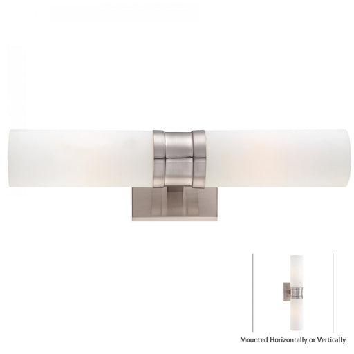 Minka Lavery 4462-84 2 Light Wall Light Sconce