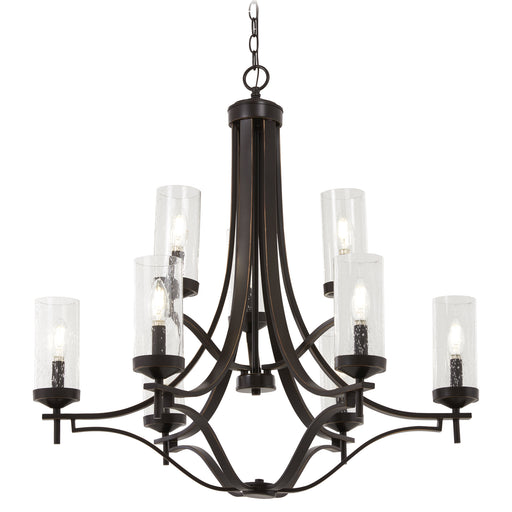 Minka Lavery 4659-579 Elyton 9 Light Downton Bronze Chandelier