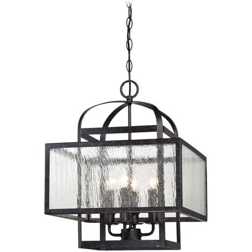 Minka Lavery 4875-283 Camden Square 4 Light Mini Chandelier