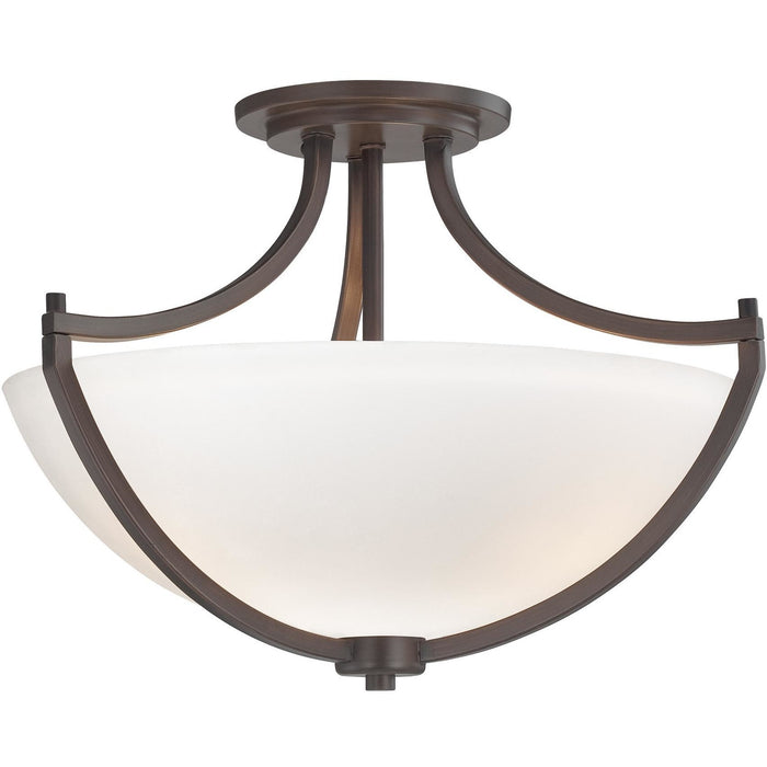 Minka Lavery 4932-284 Middlebrook 3 Light Semi Flush Mount