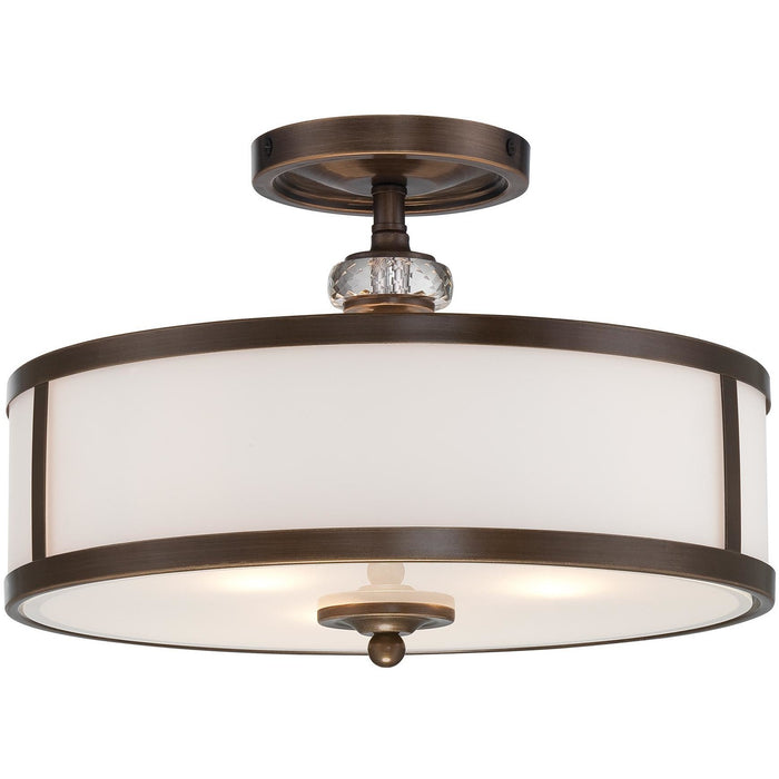 Minka Lavery 4942-570 Thorndale 3 Light Semi Flush Mount