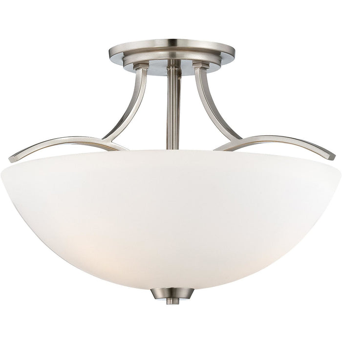 Minka Lavery 4962-84 Overland Park 3 Light Semi Flush Mount