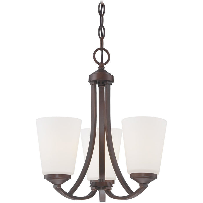 Minka Lavery 4963-284 Overland Park 3 Light Mini Chandelier