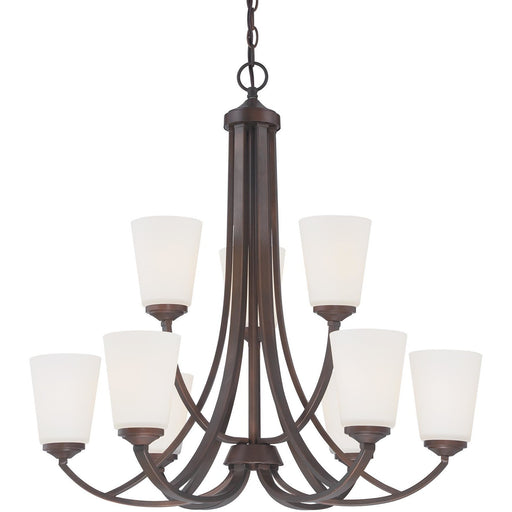 Minka Lavery 4969-284 Overland Park 9 Light Chandelier