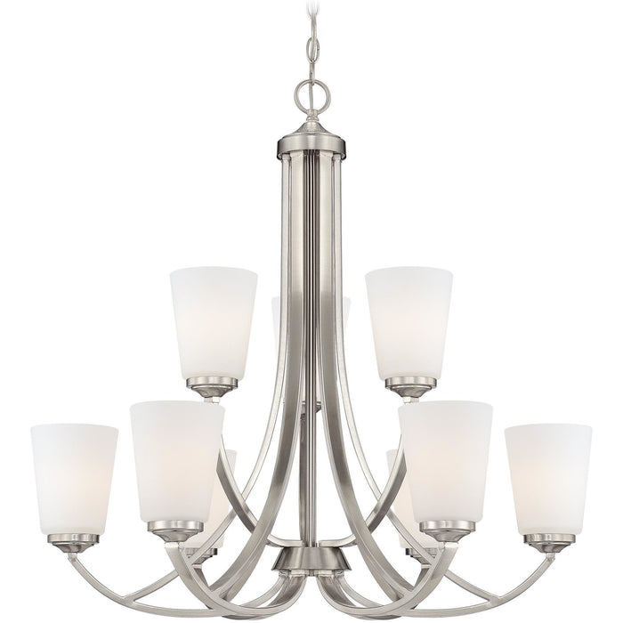 Minka Lavery 4969-84 Overland Park 9 Light Chandelier