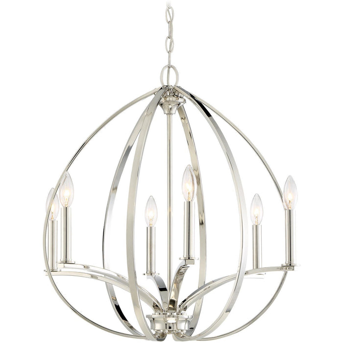 Minka Lavery 4986-613 Tilbury 6 Light Chandelier