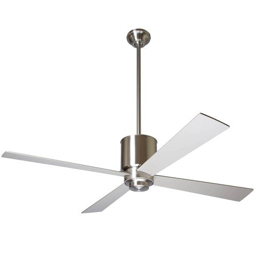"Modern Fan Company LAP-BN-50-NK-NL-001 Lapa 50"" Bright Nickel Ceiling Fan"