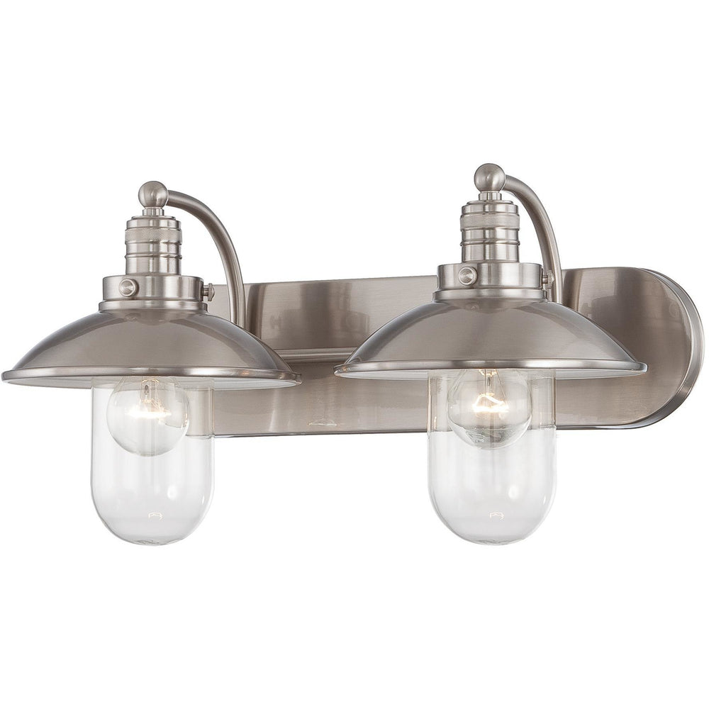 Minka Lavery 5132-84 Downtown Edison 2 Light Bathroom Vanity Light