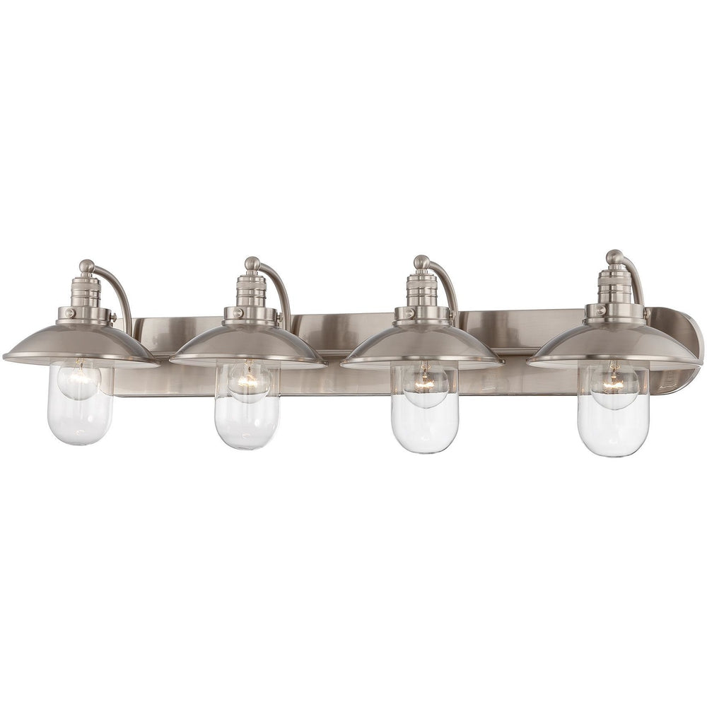 Minka Lavery 5134-84 Downtown Edison 4 Light Bathroom Vanity Light