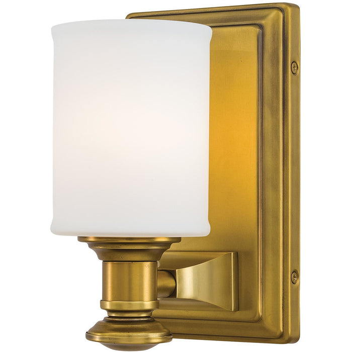 Minka Lavery 5171-249 Harbour Point 1 Light Bathroom Vanity Light Sconce