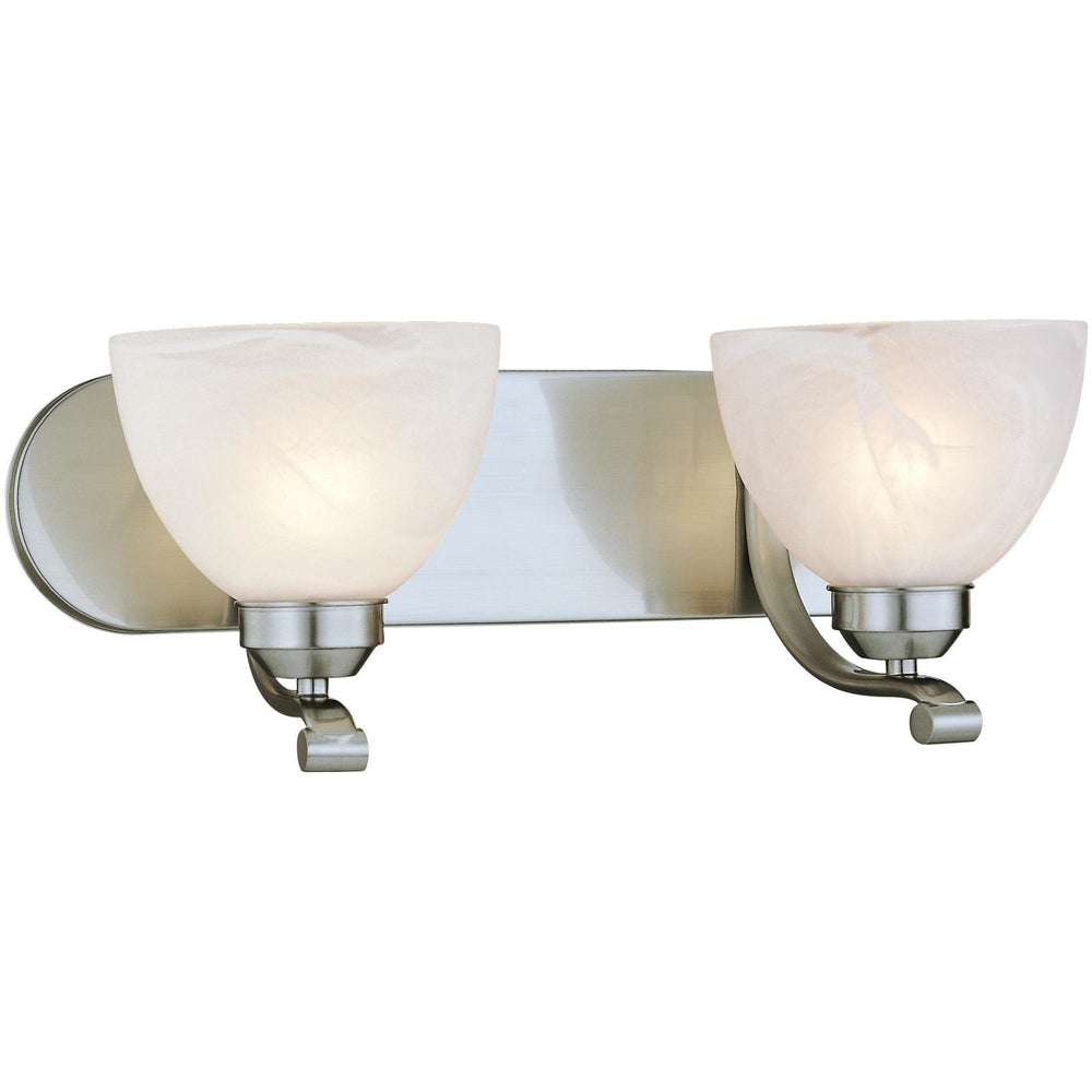 Minka Lavery 5422-84 Paradox 2 Light Bathroom Vanity Light