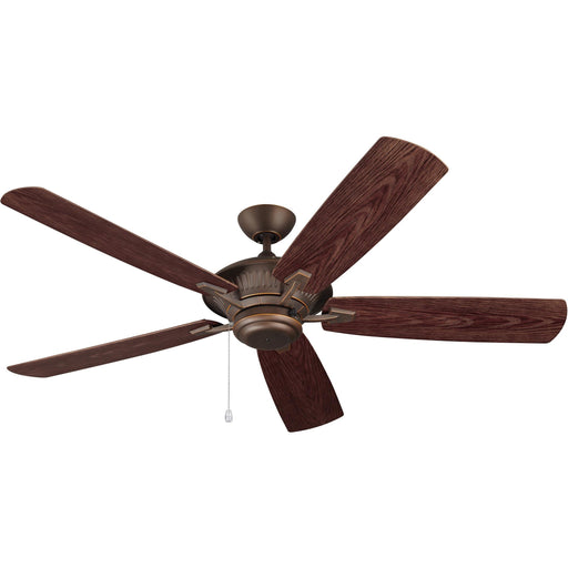 "Monte Carlo 5CY60RB 60"" Cyclone Roman Bronze Outdoor Ceiling Fan"