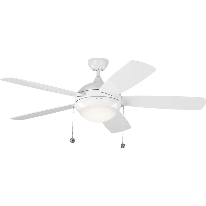 "Monte Carlo 5DIW52WHD 52"" Discus Outdoor White Ceiling Fan"
