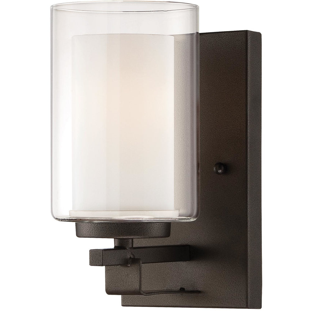 Minka Lavery 6101-172 Parsons Studio 1 Light Bathroom Vanity Light Sconce