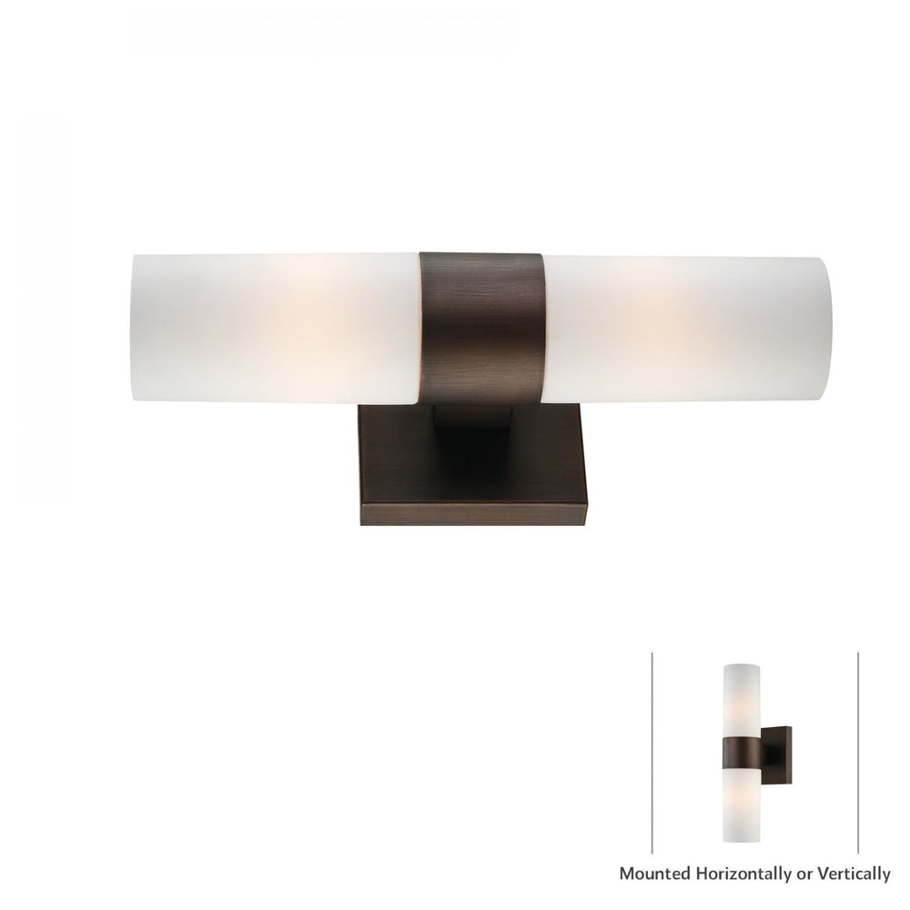 Minka Lavery 6212-647 2 Light Wall Light Sconce