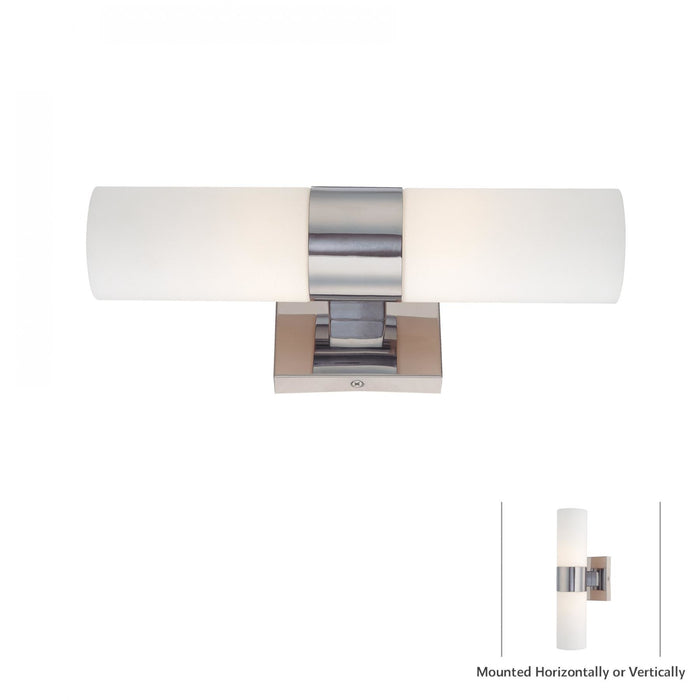 Minka Lavery 6212-77 2 Light Wall Light Sconce