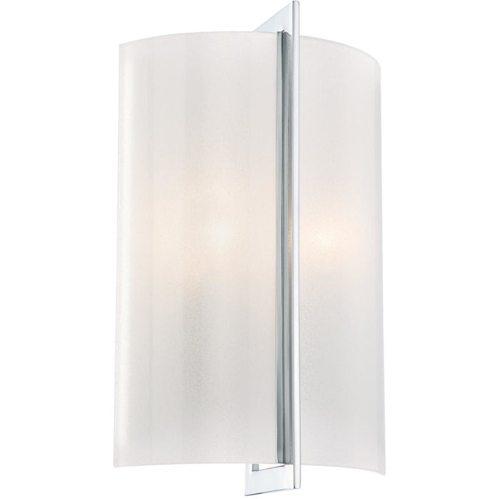 Minka Lavery 6390-77 Clarte 2 Light Wall Light Sconce