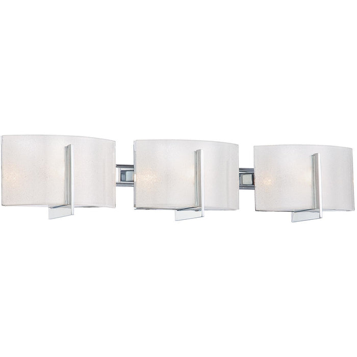 Minka Lavery 6393-77 Clarte 3 Light Bathroom Vanity Light
