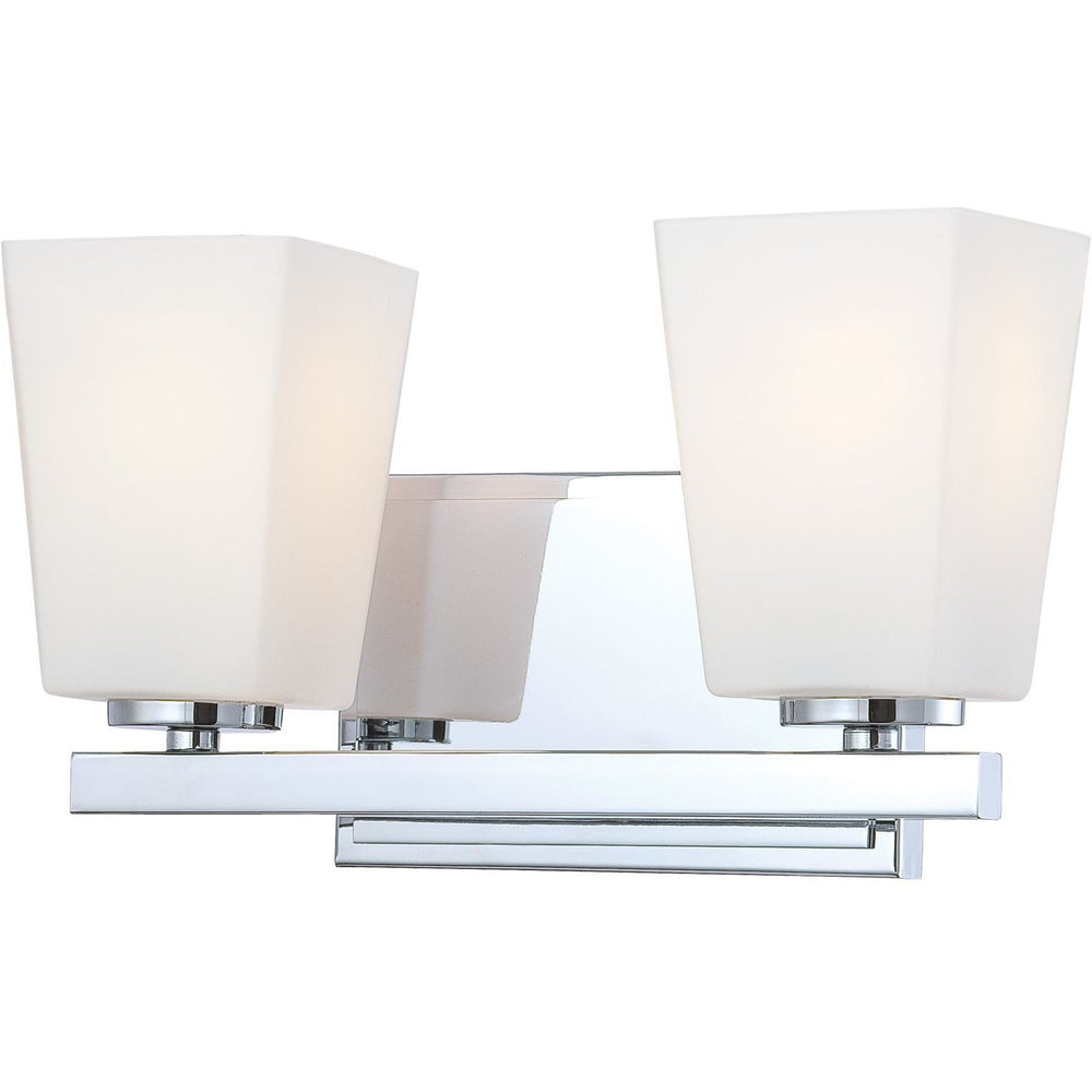 Minka Lavery 6542-77 City Square 2 Light Bathroom Vanity Light