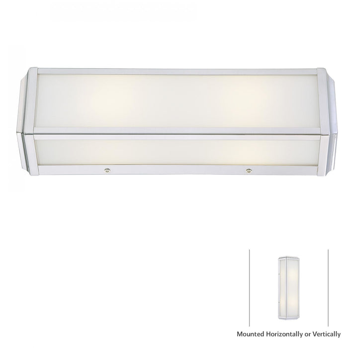 Minka Lavery 6912-613 Daventry Bath 2 Light Bathroom Vanity Light