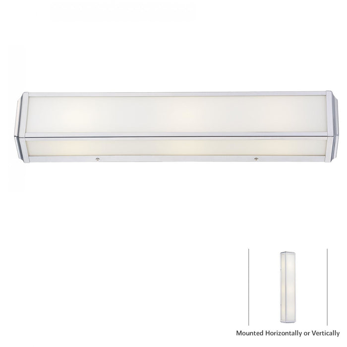 Minka Lavery 6913-613 Daventry Bath 3 Light Bathroom Vanity Light
