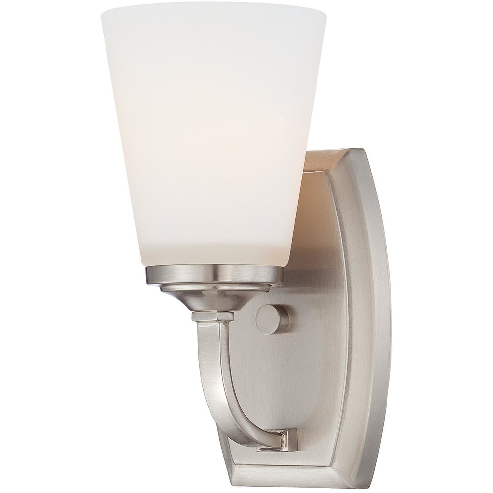 Minka Lavery 6961-84 Overland Park 1 Light Bathroom Vanity Light Sconce