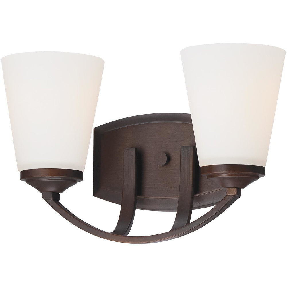 Minka Lavery 6962-284 Overland Park 2 Light Bathroom Vanity Light