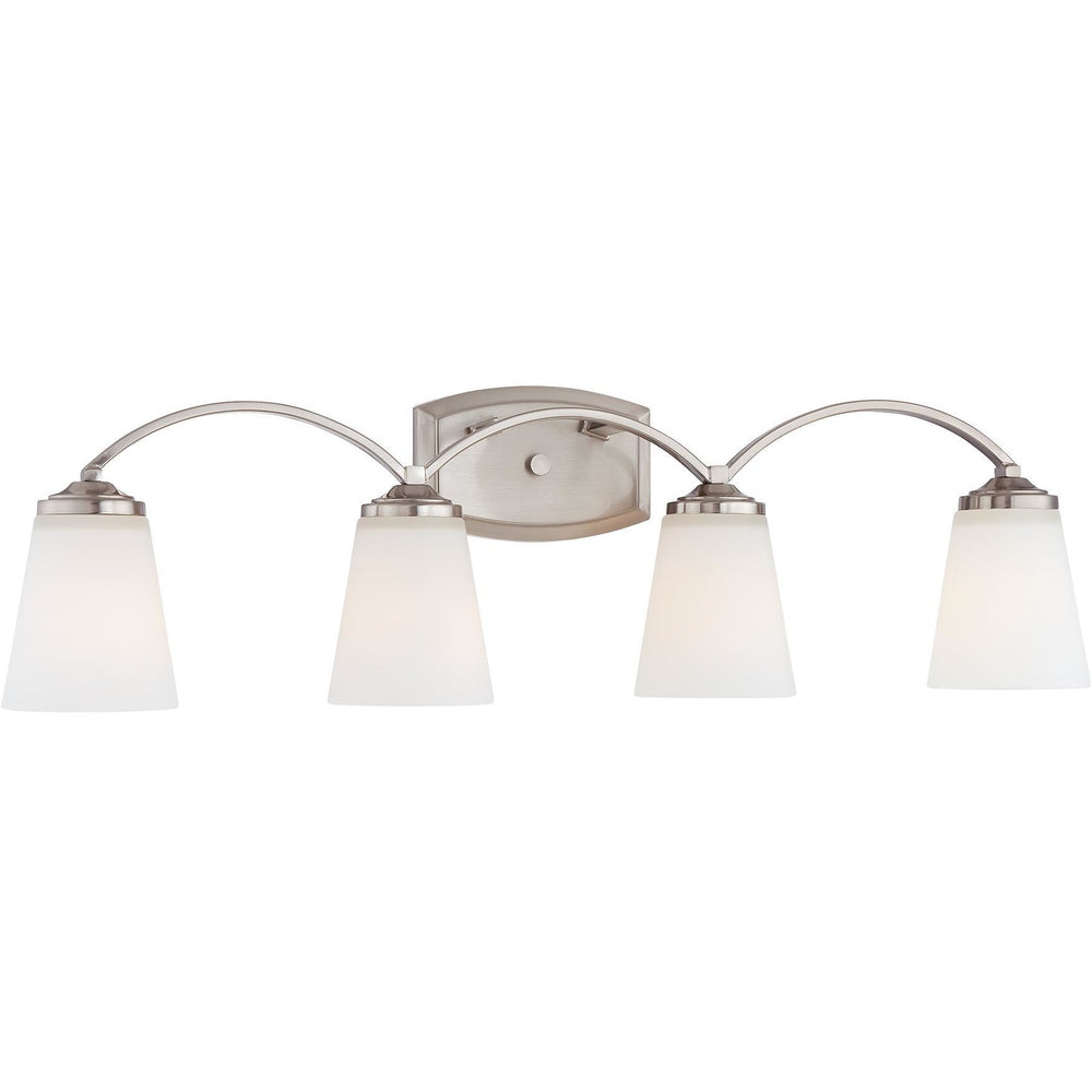 Minka Lavery 6964-84 Overland Park 4 Light Bathroom Vanity Light