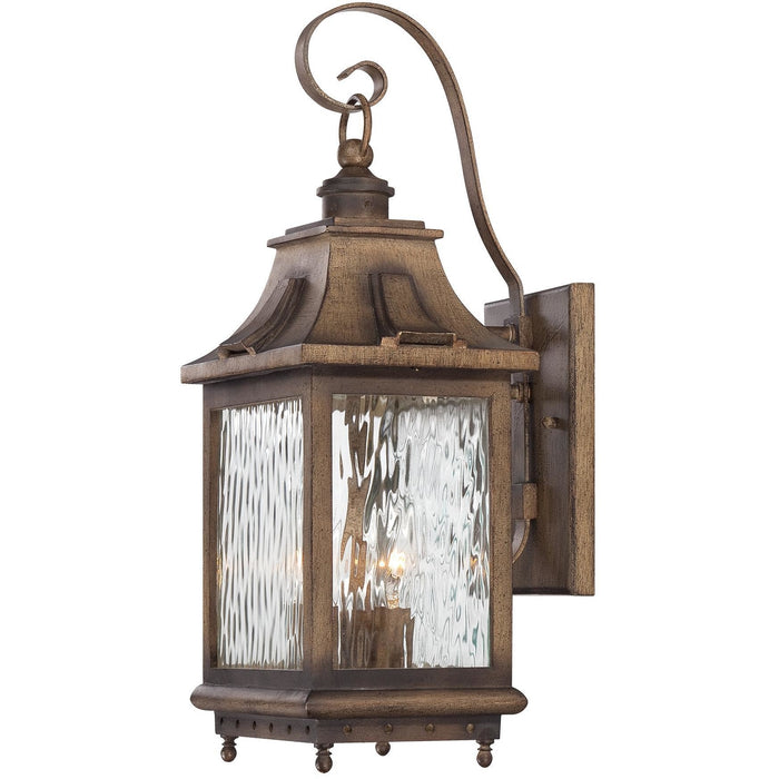 Minka Lavery Great Outdoor 72112-149 Wilshire Park 3 Light Wall Light