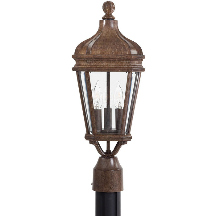 Minka Lavery Great Outdoor 8695-61 Harrison 3 Light Post Light
