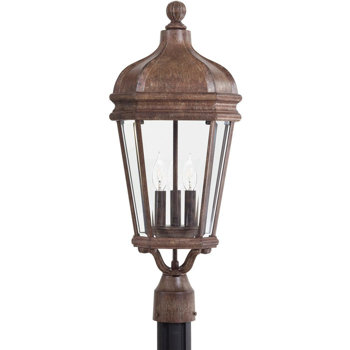 Minka Lavery Great Outdoor 8696-61 Harrison 3 Light Post Light