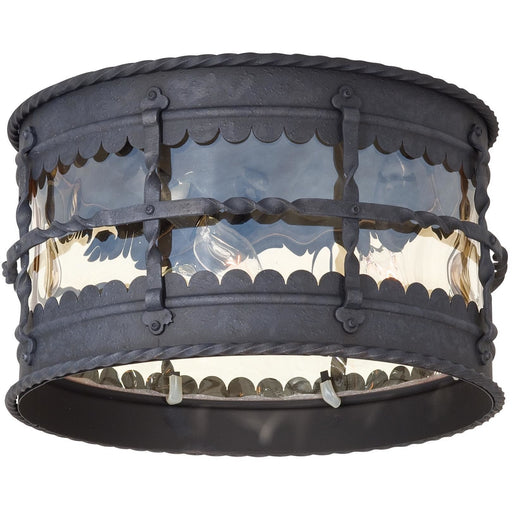 Minka Lavery Great Outdoor 8889-A39 Mallorca 3 Light Flush Mount