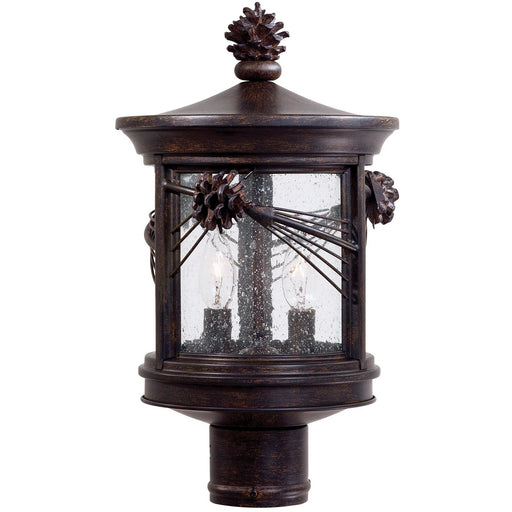 Minka Lavery Great Outdoor 9156-A357 Abbey Lane 2 Light Post Light