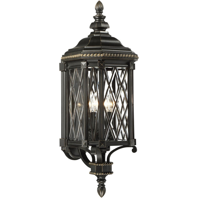Minka Lavery Great Outdoor 9322-585 Bexley Manor 4 Light Wall Light